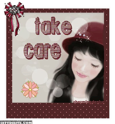 Charming Take Care Graphic